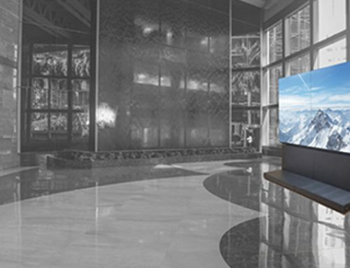 Integrating display technology into your lobby: what are the possibilities?