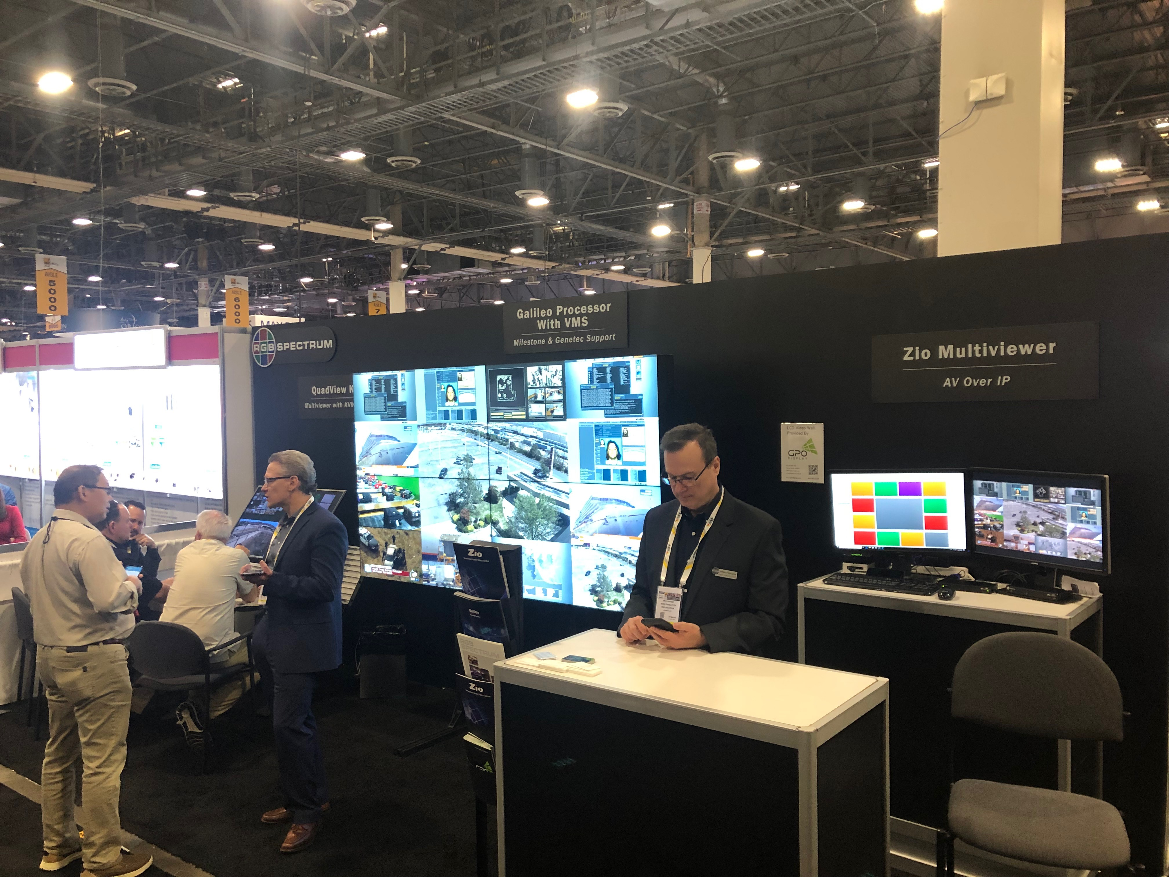 ISC West with RGB Spectrum in Las Vegas – GPO Display